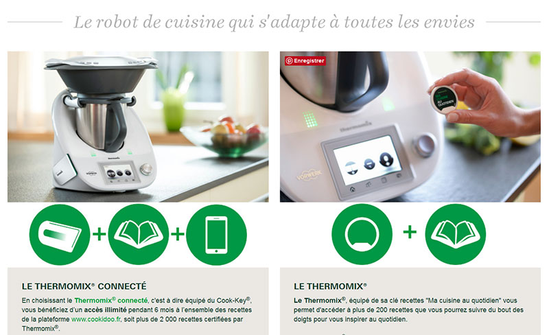 Thermomix® : Robot culinaire multifonctions
